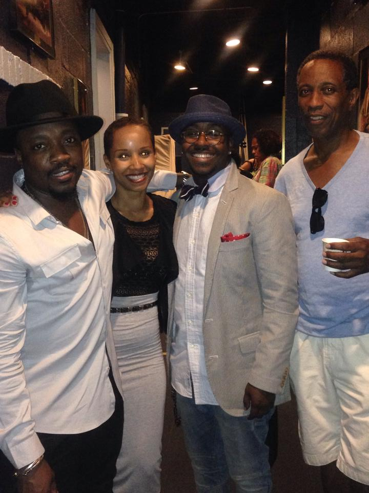 From left to right: Anthony Hamilton, Vivian Green, Kwame, Craig Derry