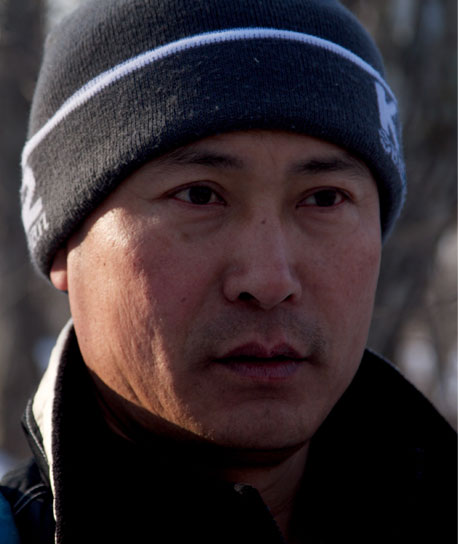 Sooyong Park - a researcher and documentary film-maker, he has studied Siberian tigers for the past twenty years