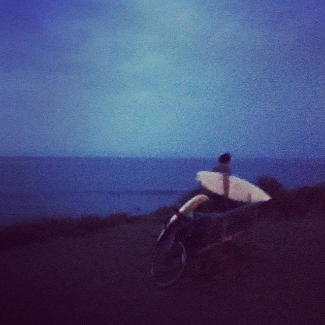 Just before sunrise. County Line Beach, Malibu.