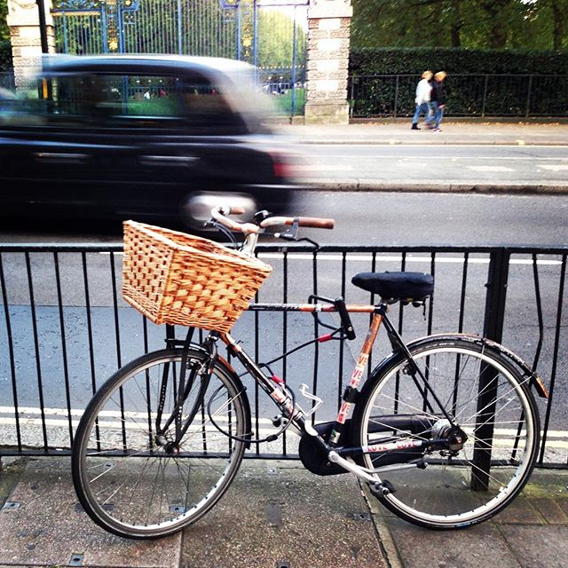Should I buy a bike? I took this photo in London, September 2015.