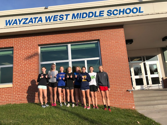 The state team does their tuneup workout at Wayzata West! The ladies are ready to roll on Saturday.