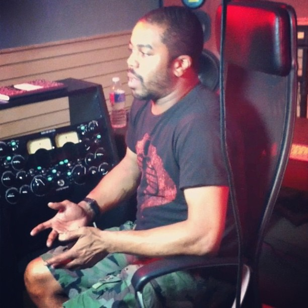 In the studio w/ Just Blaze #NYC #Music #JustBlaze