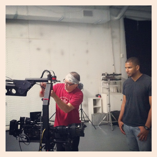 "@looski7 with the DP setting up in #Miami for #Segarra ""All The Boyz"" video http://vimeo.com/46515991"