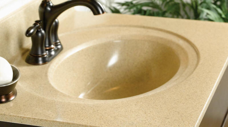 Special Order Cultured Marble WOLF special order Cultured Marble tops combine smooth, seamless lines with first-quality construction, beautiful colors and the most popular bowl sizes to add distinction and appeal to virtually any bath.   Integral and undermount bowls available   All-in-one design for easy cleaning   Wear-resistant top coat provides durability and lasting beauty   Custom sizes and configurations   Pre-drilled faucet holes with multiple options   5-Year Limited Warranty