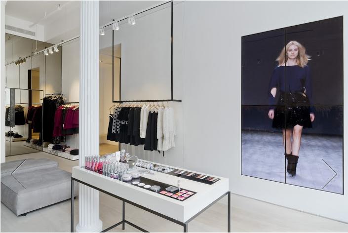 Jill Stuart's new flagship store in SoHo on Broome Street