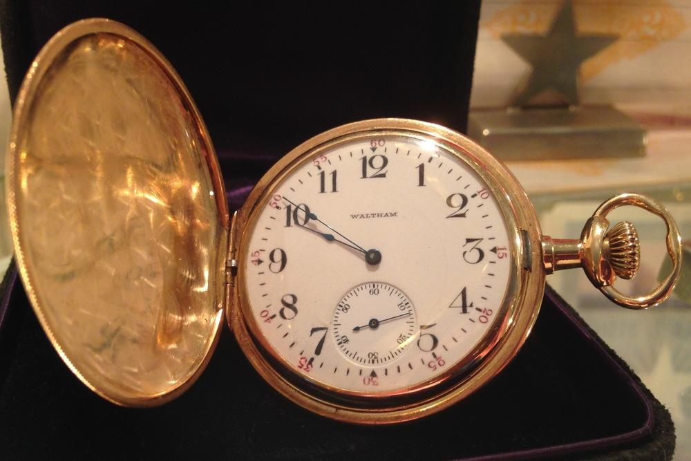 The Waltham Pocketwatch Belonging To John Jacob Astor