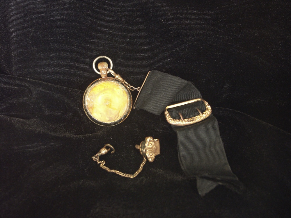 "The Ingersoll ""Midget"" Pocketwatch Belonging To Oscar Woody"