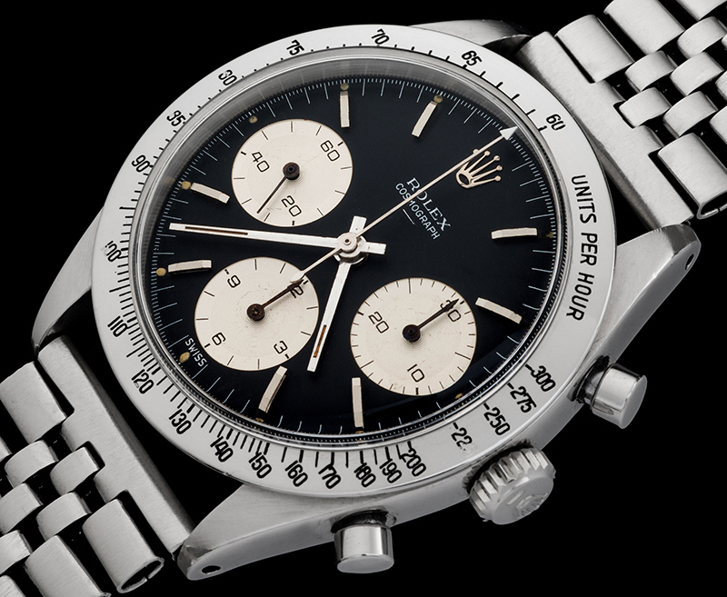 "A Rare Rolex ""Double Swiss Underline"" Daytona Reference 6239. Circa 1963."