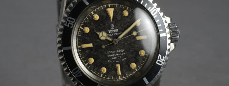 A Tudor Submariner Reference 7928 With Tropical Dial.