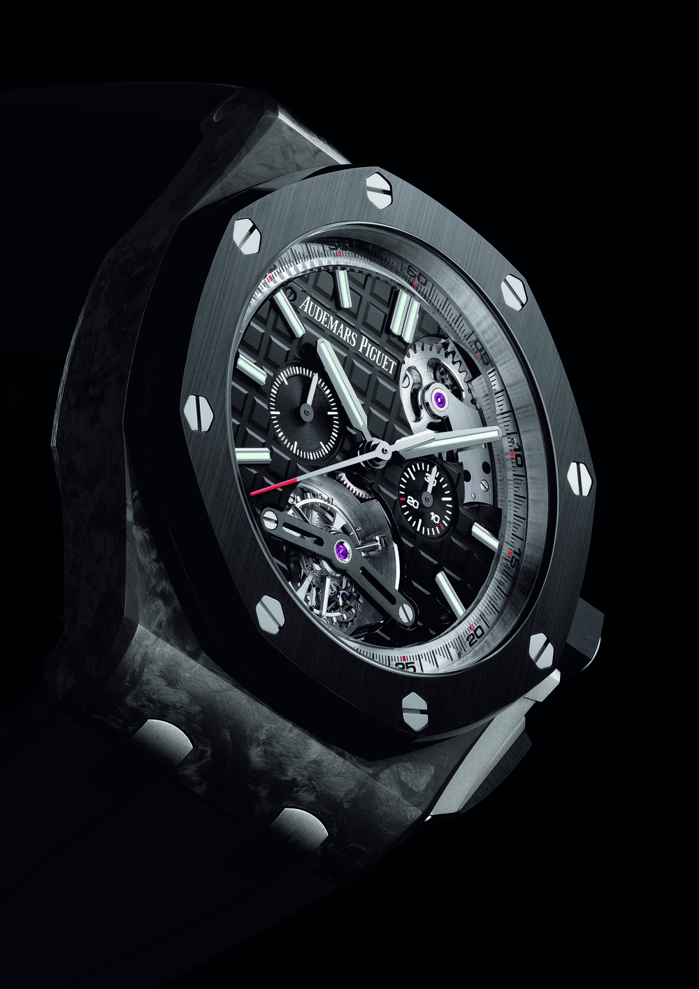 The AP Royal Oak Offshore Selfwinding Tourbillon Chronograph