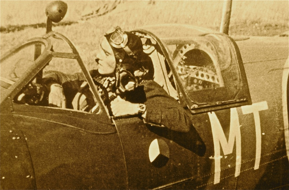 A Czech Pilot Sporting His Longines.