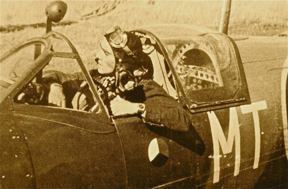 A Czech Pilot Sporting His Longines.