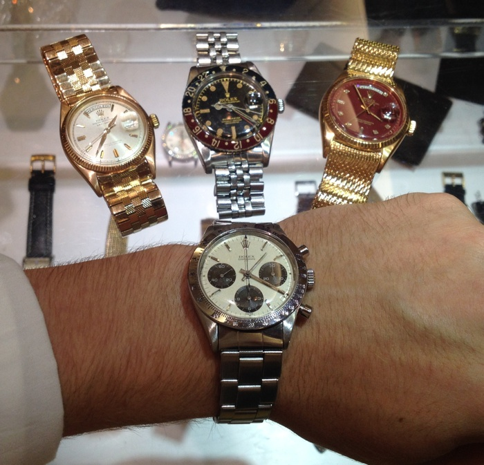 "Photo Credit: THE WATCH ADVISER. From the article ""Watching Watches With Luca Musumeci @IWJG-NYC-2014."""
