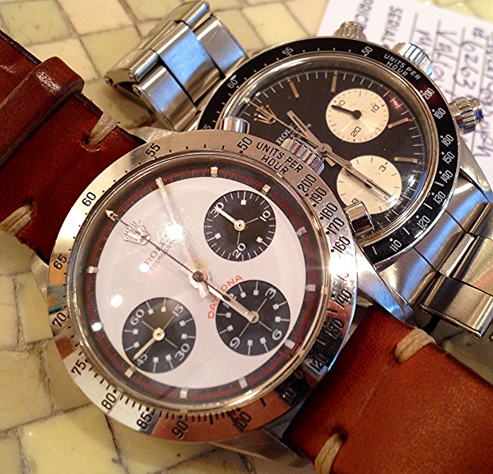 A Rare Rolex Paul Newman Daytona 6239 Paired With A Non-Paul Newman Dial Daytona.