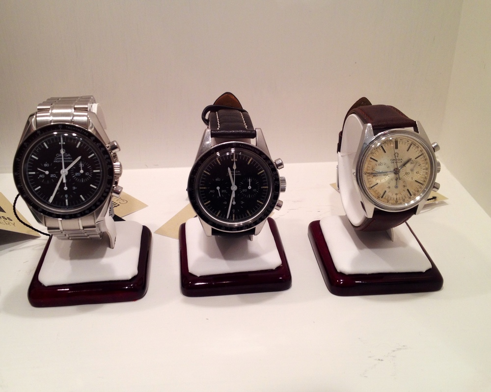 The Perfect Trio: Two Speedy's And A De Ville 861 Chronograph.