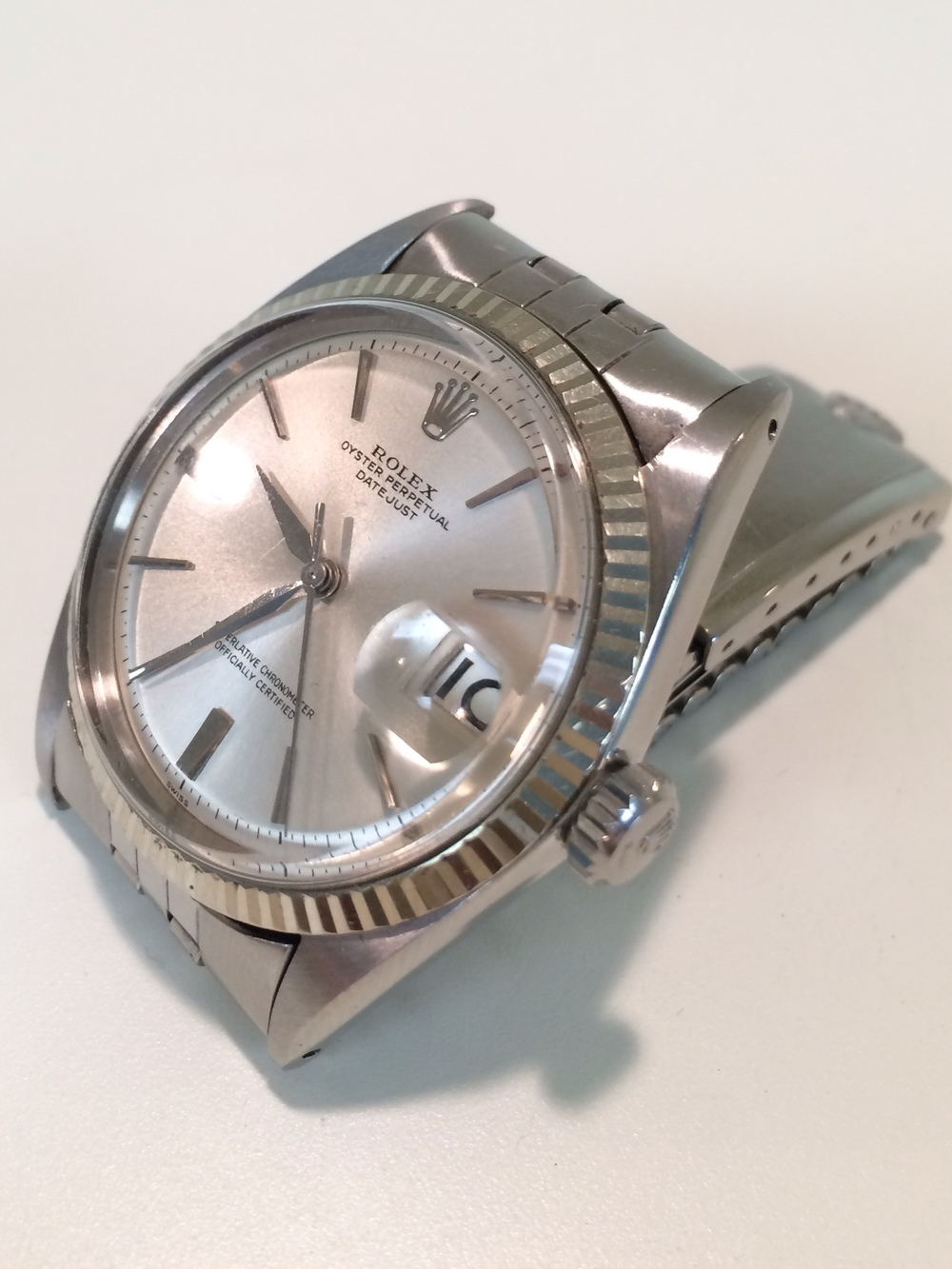 ROLEX DATEJUST 1601 CIRCA 1964. For sale by Robert Maron Inc.