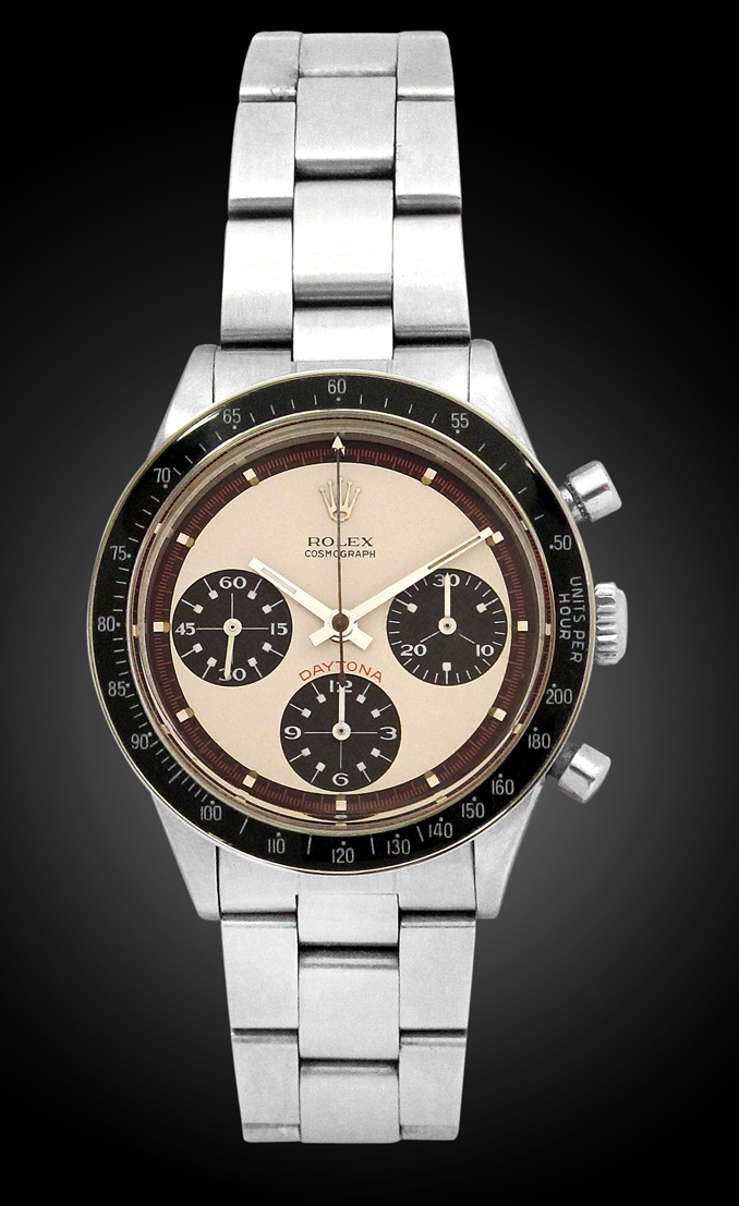 Rolex Paul Newman Daytona. Photo courtesy of Davide Parmegiani