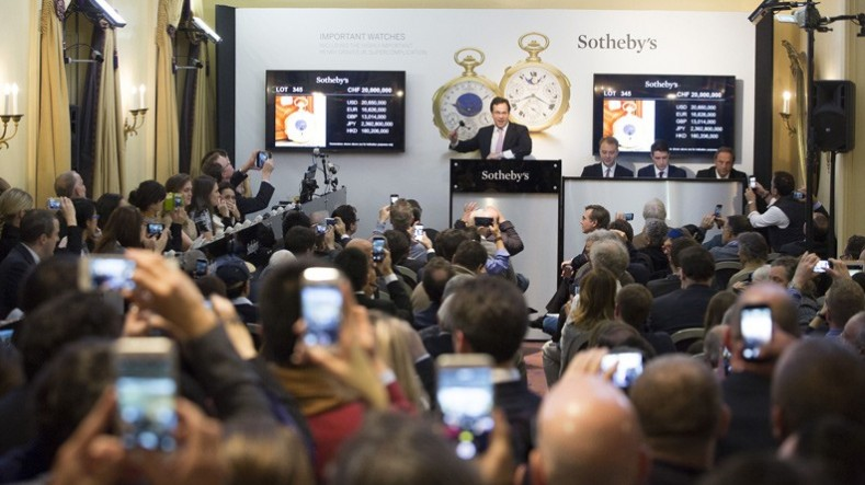 Sotheby's Sale of the Henry Graves Supercomplication.
