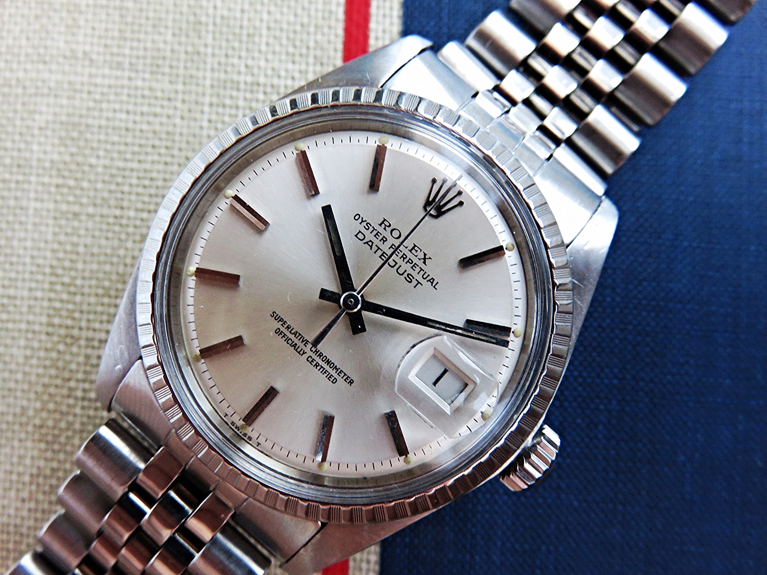 Rolex Datejust Reference 1603 Silver Dial The Watch Adviser