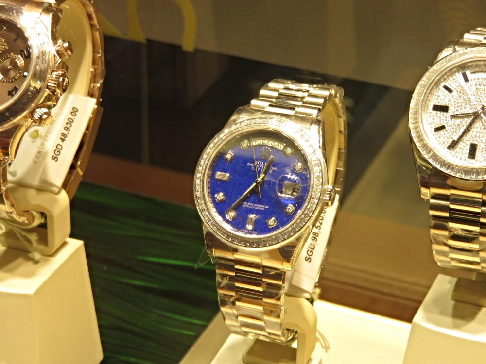 Lapis dial Day Date. This is what you call an investment.