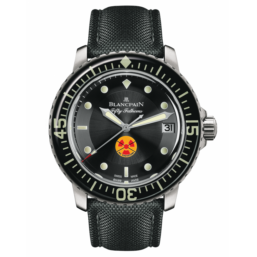 "Blancpain's ""Tribute To Fifty Fathoms"""