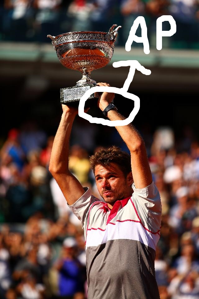 Stan Wawrinka and His Audemars Piguet Royal Oak Offshore Reference 26470ST.OO.A104CR.01