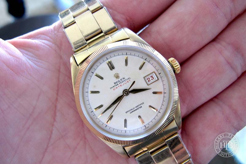 Tenzing Norgay's Personal Rolex Datejust