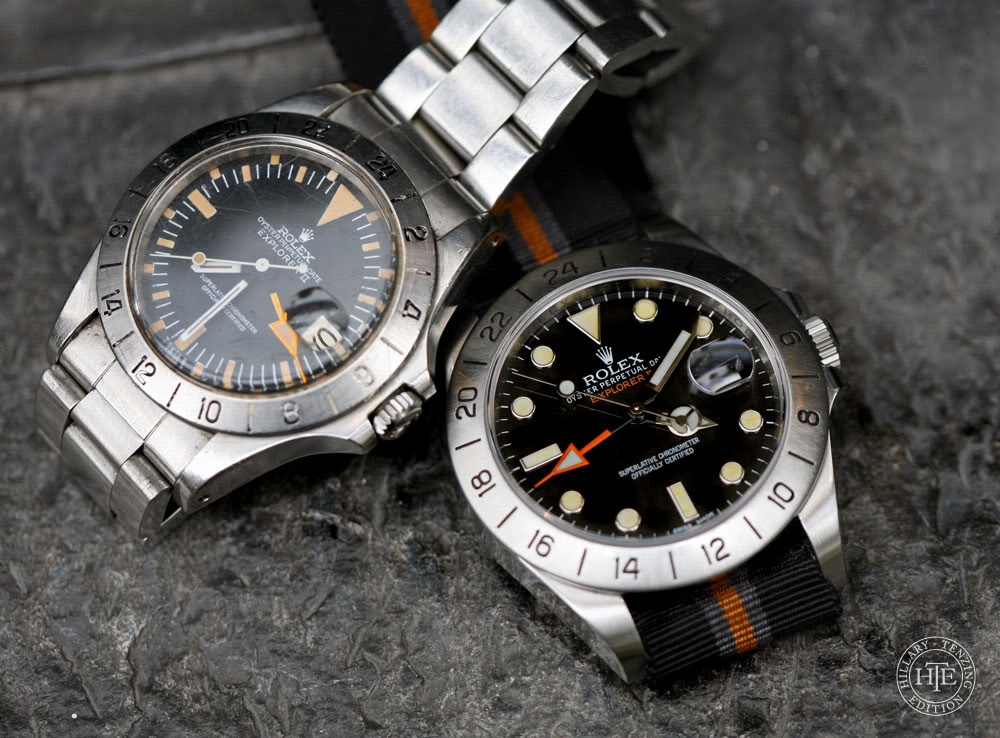 Explorer II: Vintage vs New