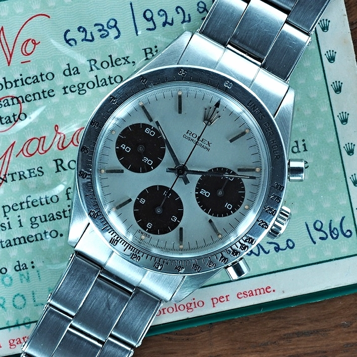 The FIRST Rolex 6239 Daytona