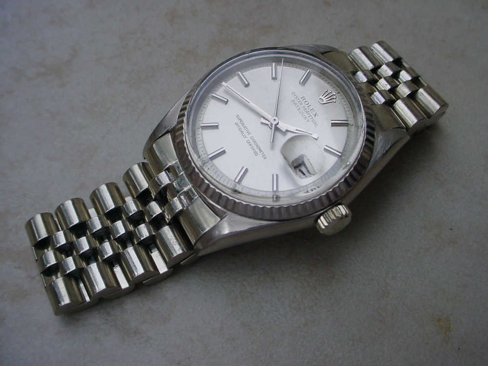 ROLEX DATEJUST REFERENCE 1601 (WHITE GOLD)
