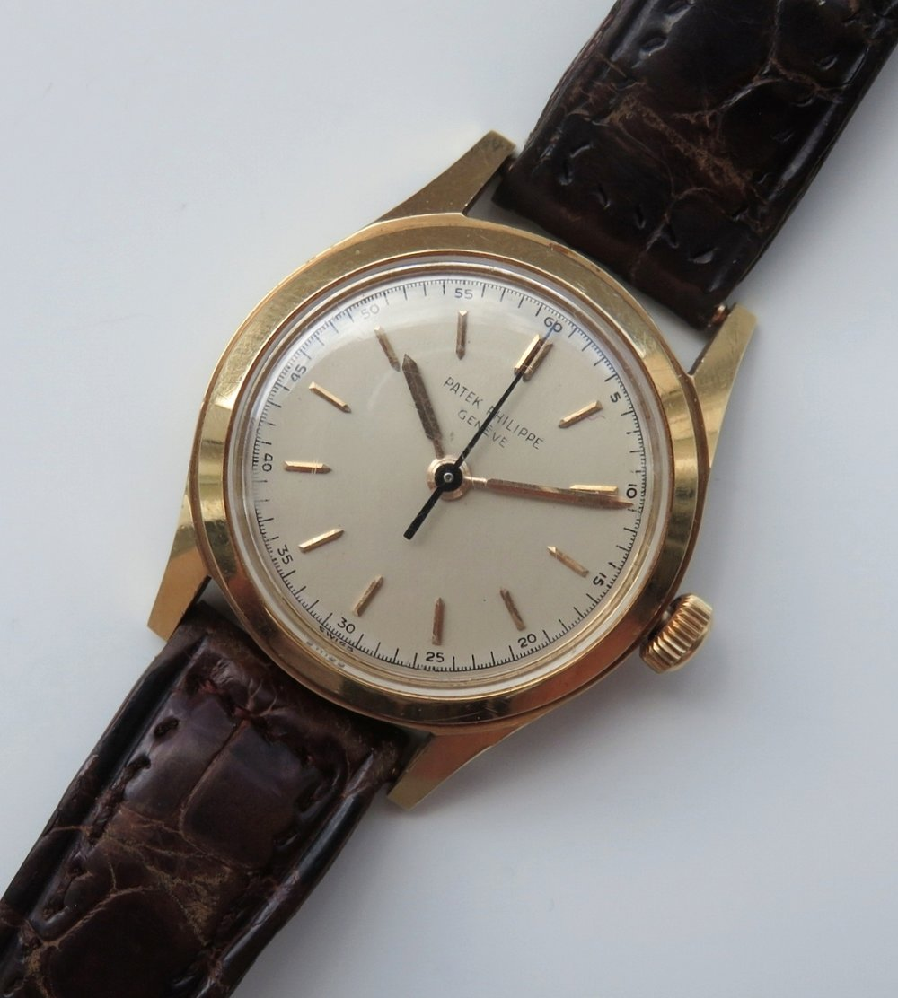NOS Patek Philippe Waterproof Calatrava Reference 2483 Rose