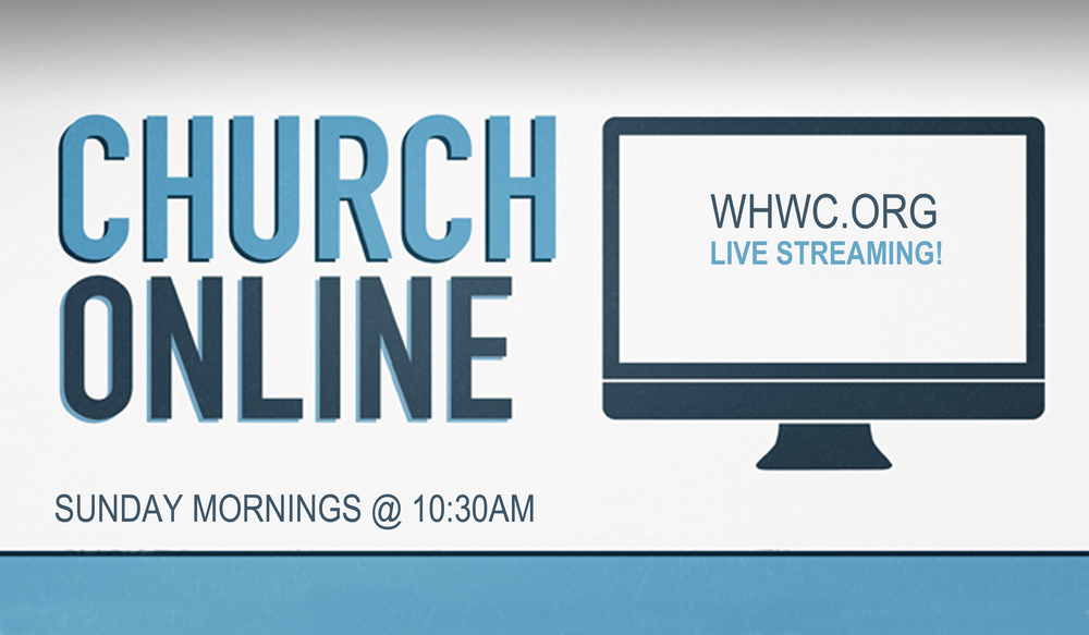 Click to watch Live Sunday Mornings @ 10:30 AM