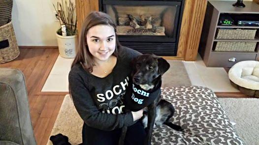 "Tasha (Tara), Ontario ""Tasha is doing so well..she fits right in and seems to love everybody."""