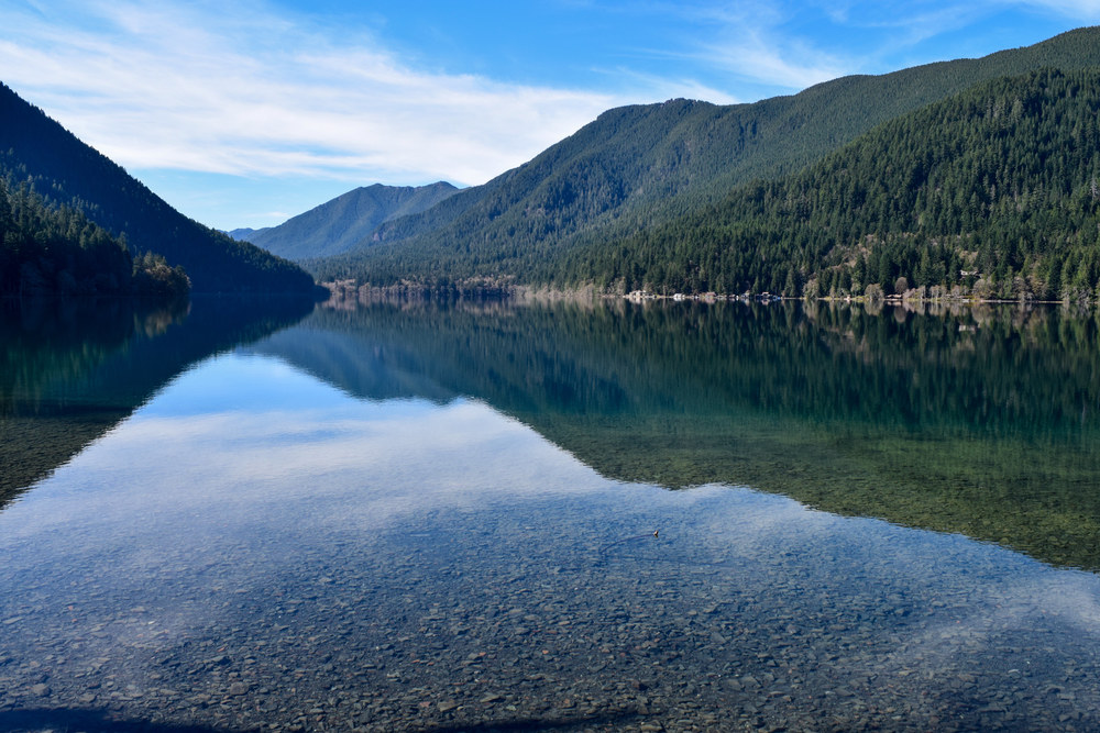 Lake Crescent Tour: Crystal clear, glacier fed waters