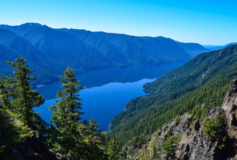 Custom Tour: Get above Lake Crescent atop Pyramid Peak