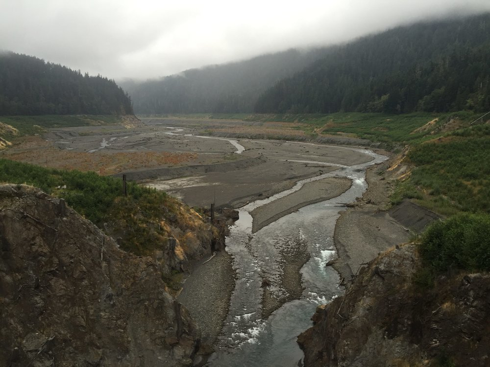 The Elwha River with no barriers