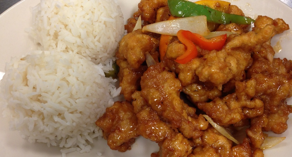 Lunch Orange Chicken