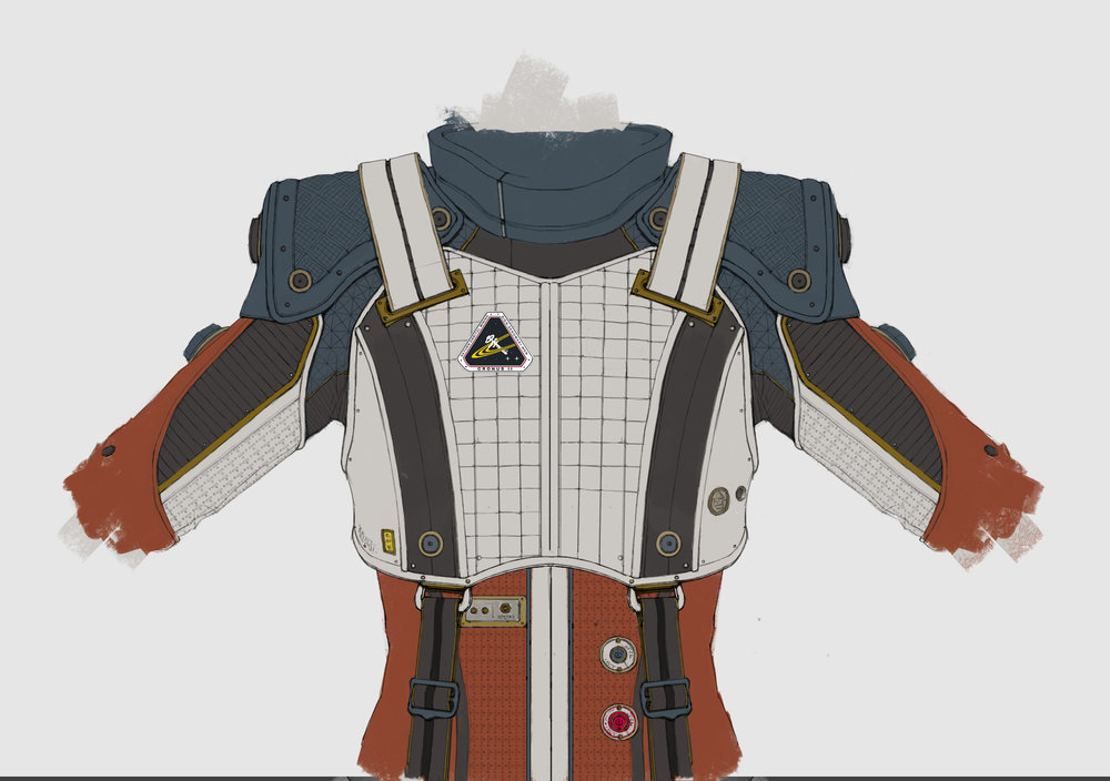 Olivia Rhodes - EVA suit