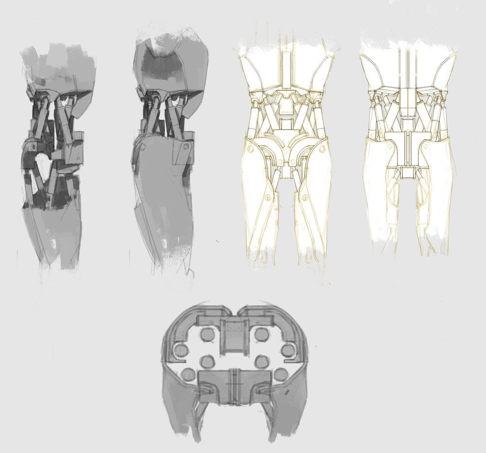 Jack - torso sketch