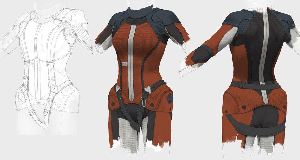 Olivia Rhodes - base suit
