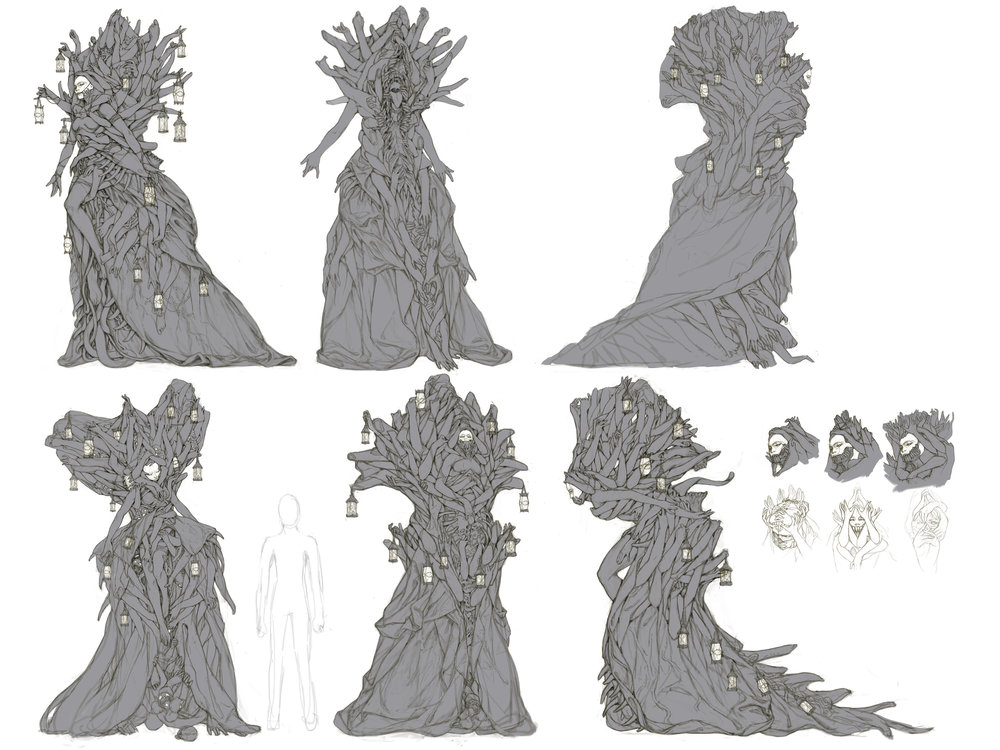 parasite queen sketches comp.jpg