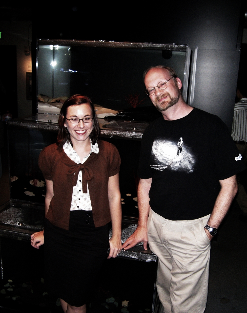 Tiffany Bozic & Dr. Rich Mooi