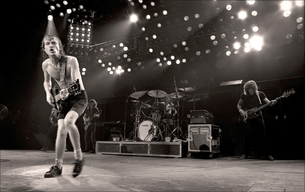 AC/DC - Manchester Apollo - 1982 AC/DC, Harry Potts