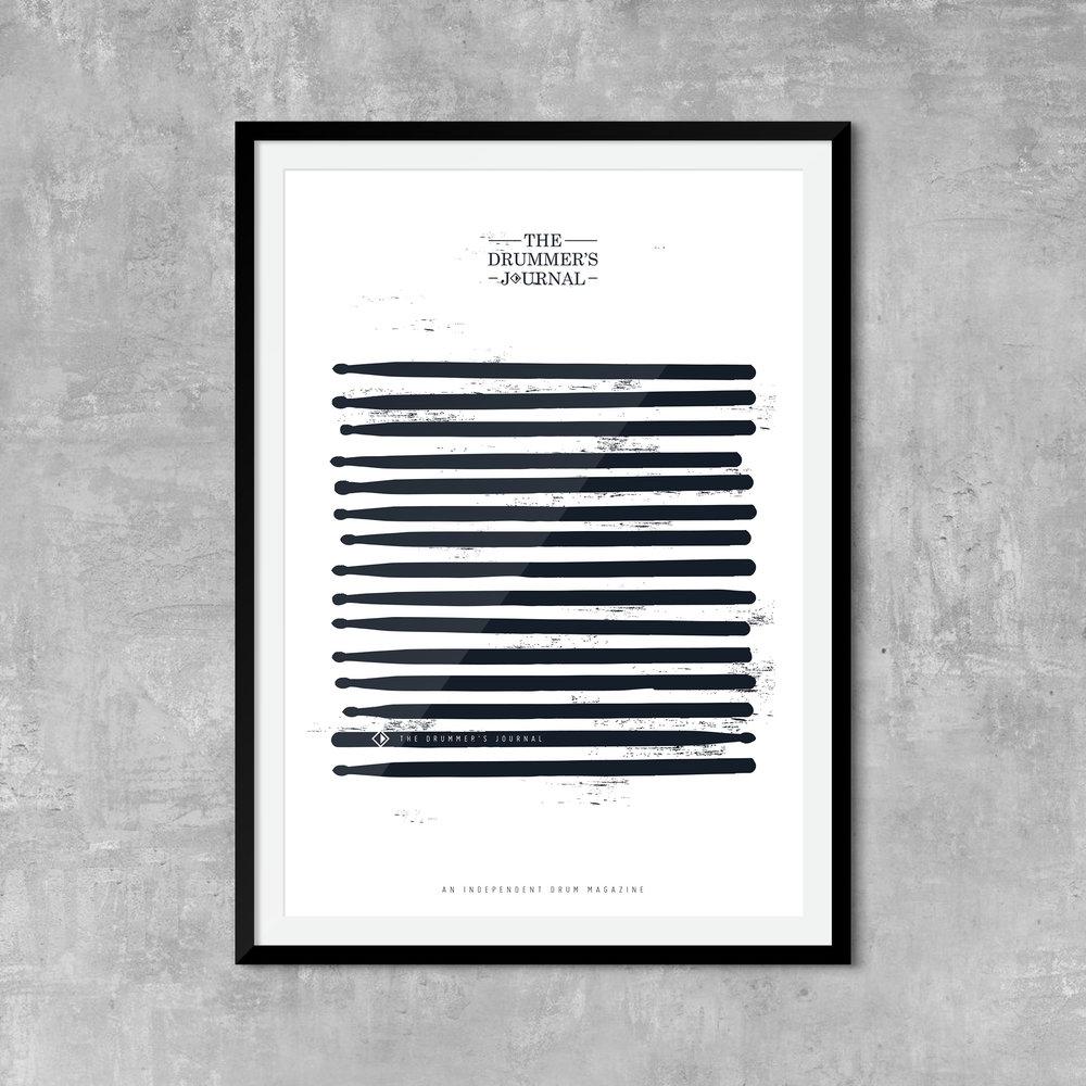 Sticks Print