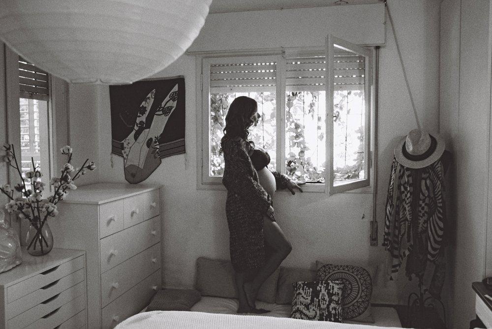 Tel Aviv maternity boudoir-15