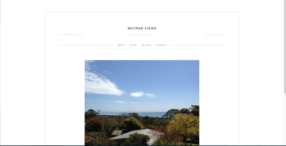 McCrae Views