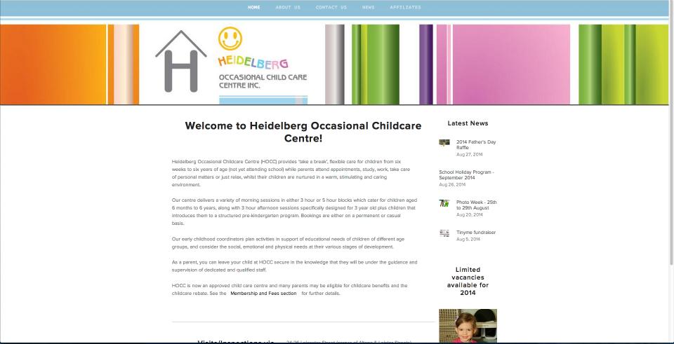 Heidelberg Occasional Care Centre