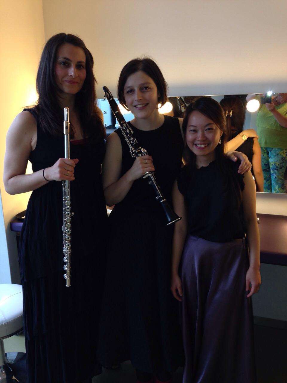Scherzando Trio in de Doelen. 21 juni 2015