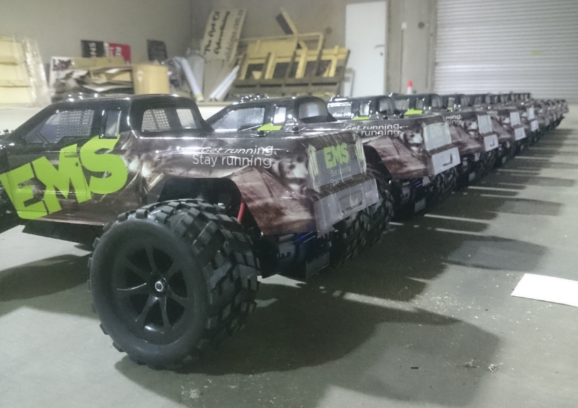 RC Car Wrap