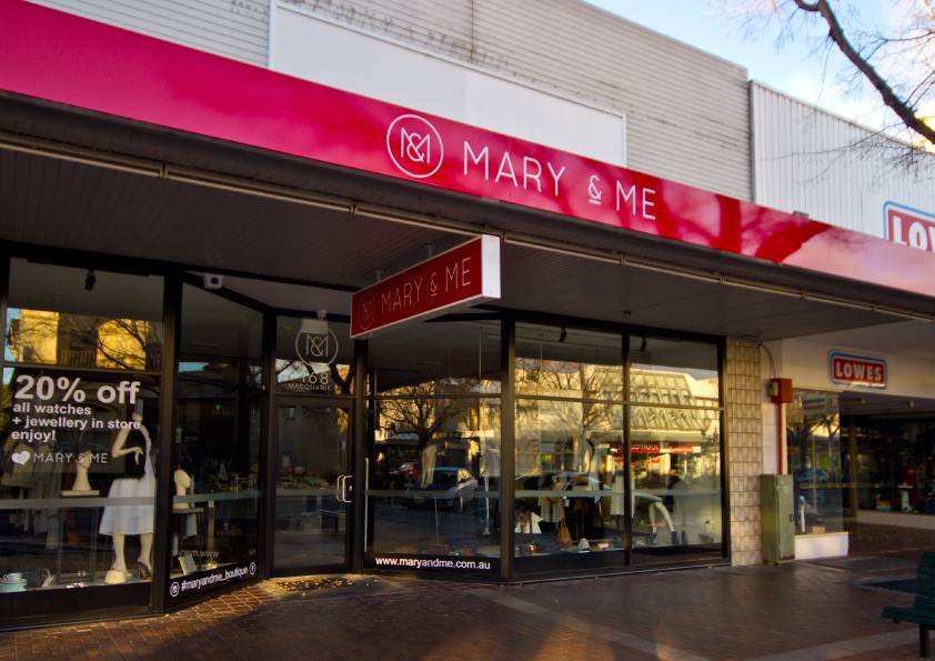 mary&me signs
